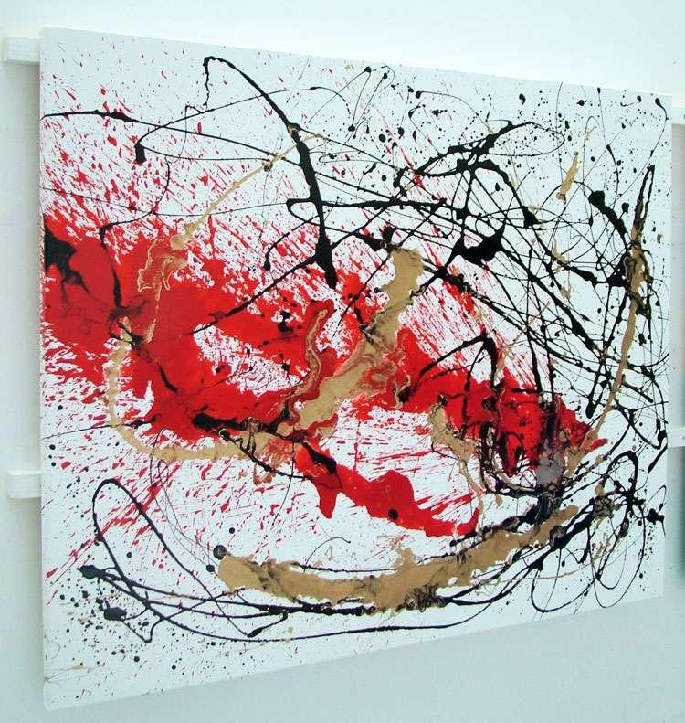 Decadence abstract splash art