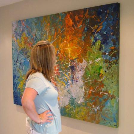 paint your own canvas art