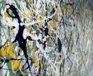 Jackson Pollock drip painting