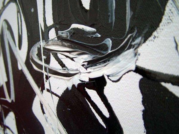Bridget Riley Art black and White