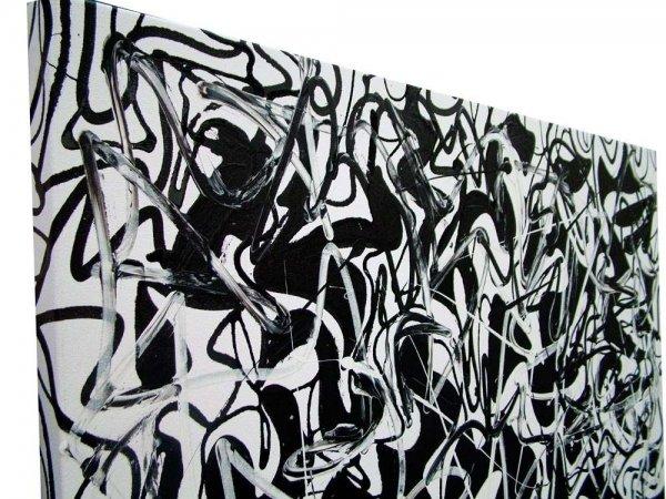Modern Art black and white