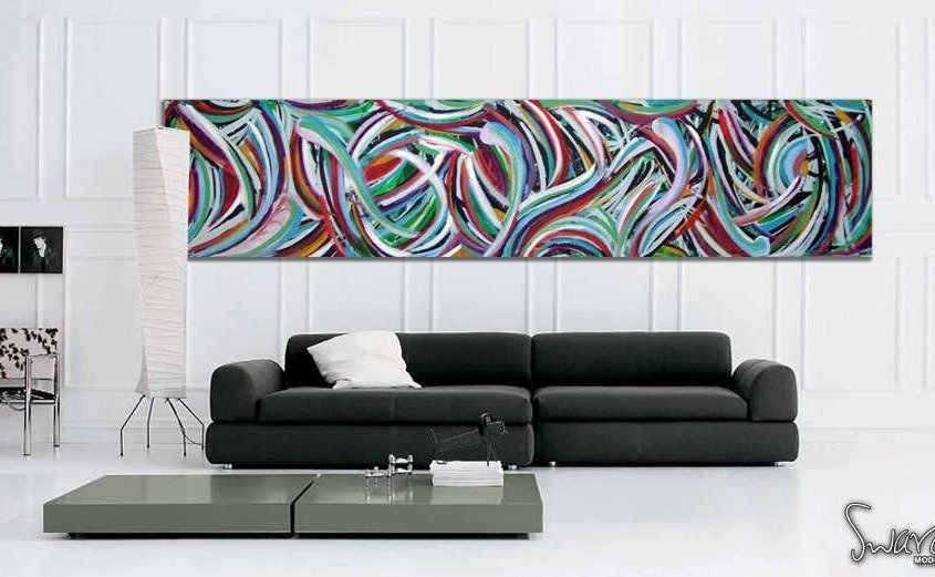 canvas urban style painting