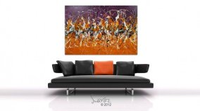 Big Abstract Art Painting