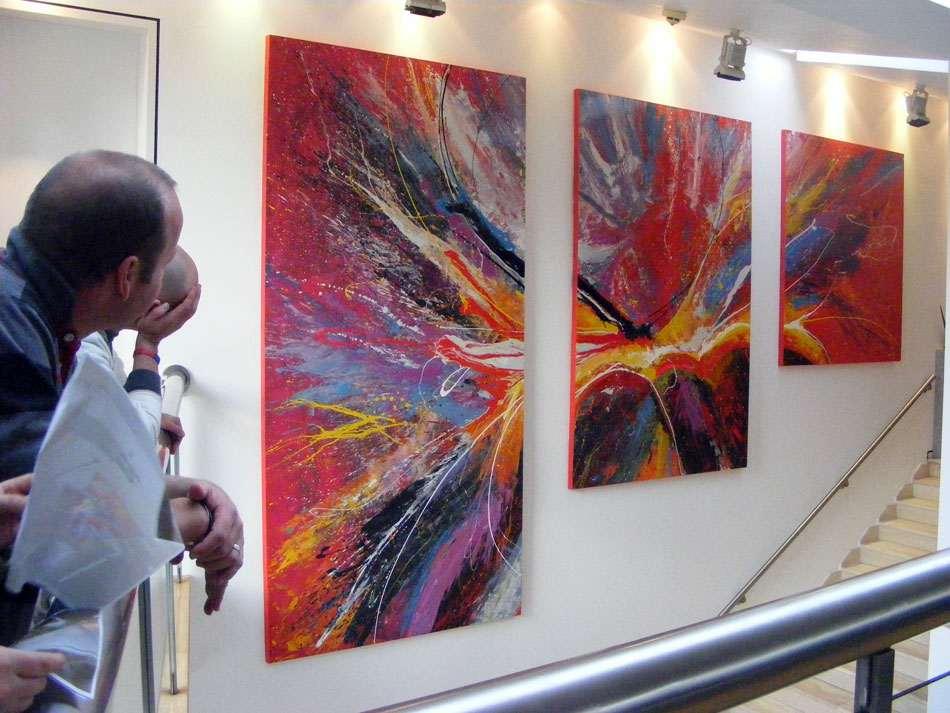 Large Scale Acrylic Painting