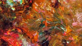 Large canvas abstract art