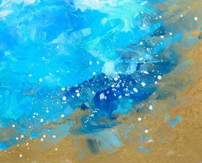 Atlantic Drift original art