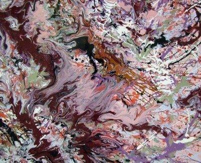 art painting enamels