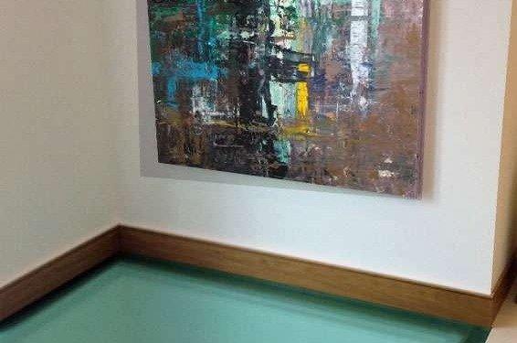 Gerhard Richter inspired art