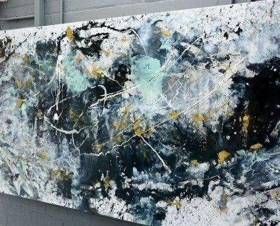 big canvas painting