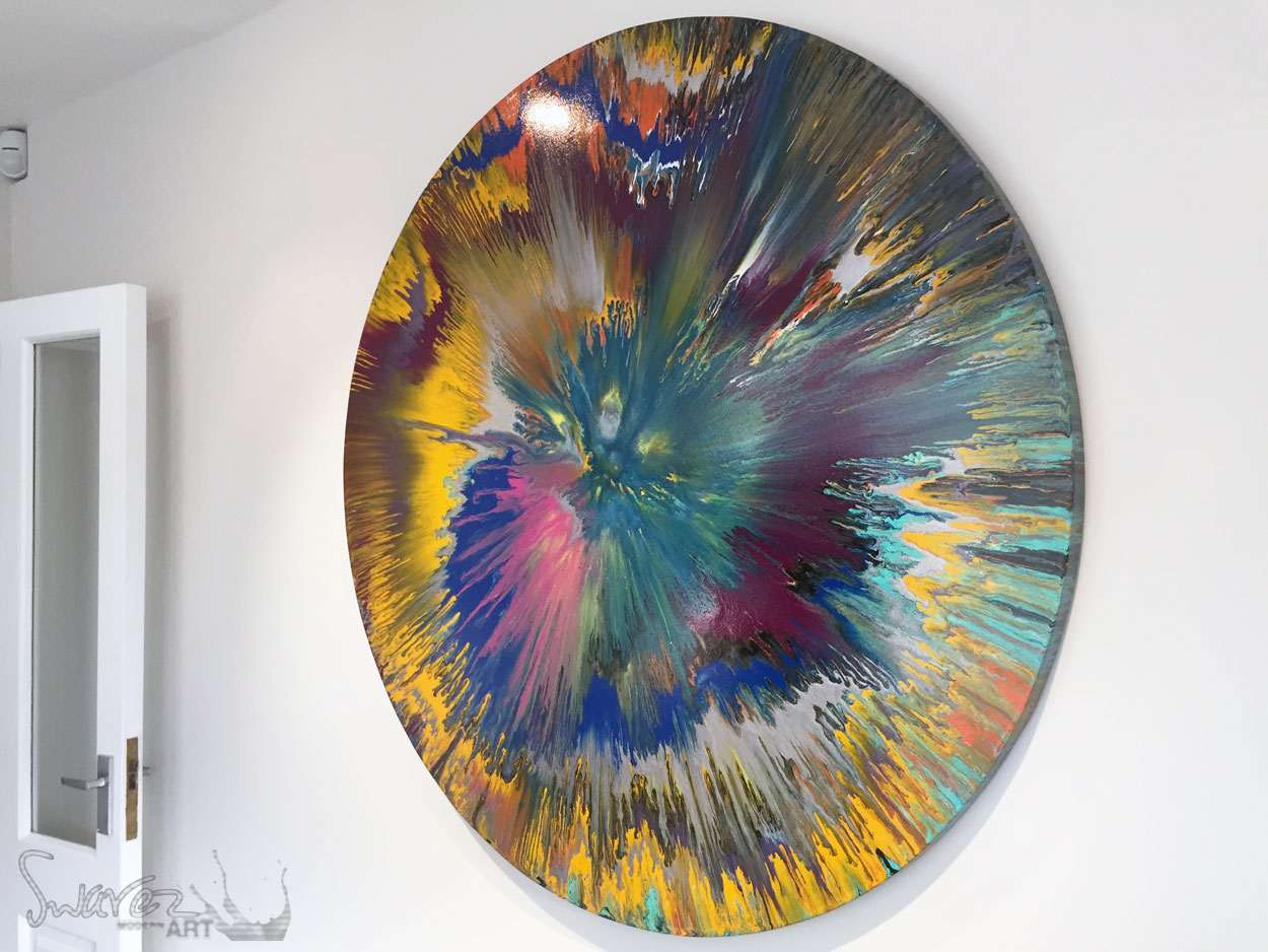 Spin art paintings are fun but stressful heres the how and why if i havent achieved that then theyll look the same as any other spin painting judge that for yourself solutioingenieria Gallery