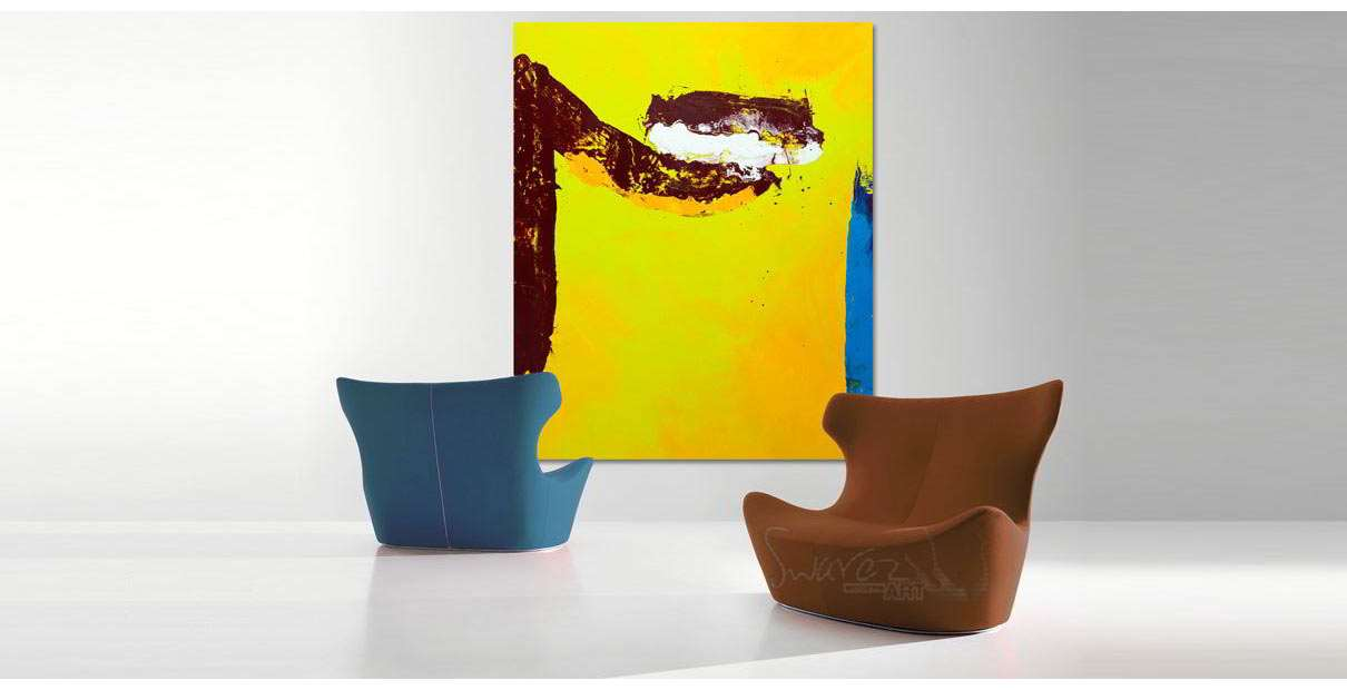 two-chairs-and-an-original-painting-in-yellow