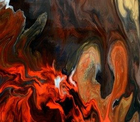 dark orange art by Swarez (1)
