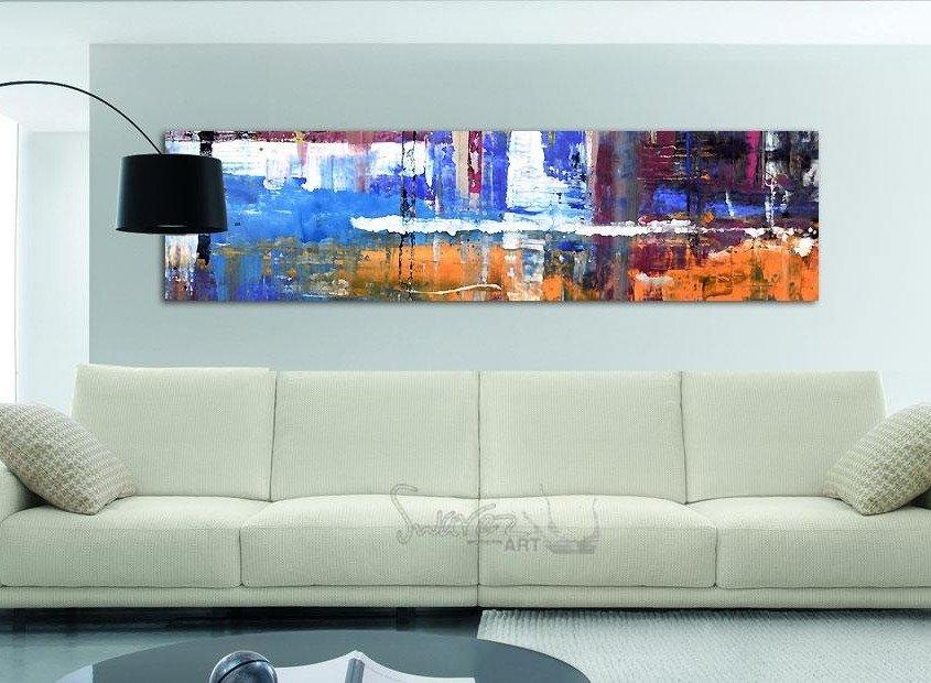 Huge cream colored sofa