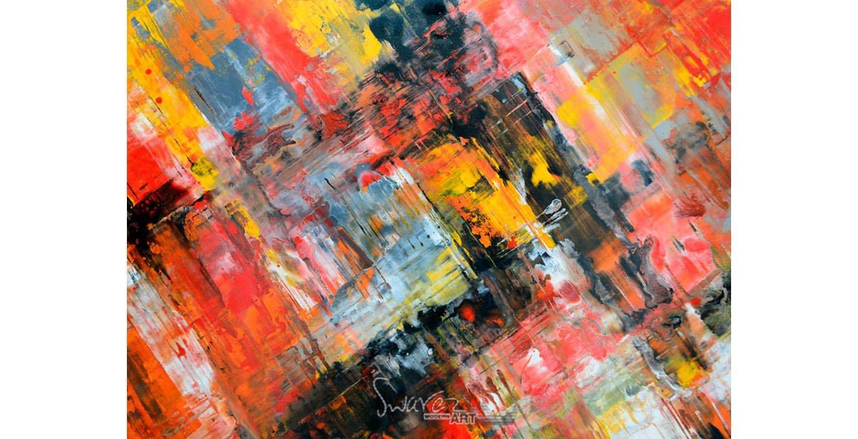 Orange paints