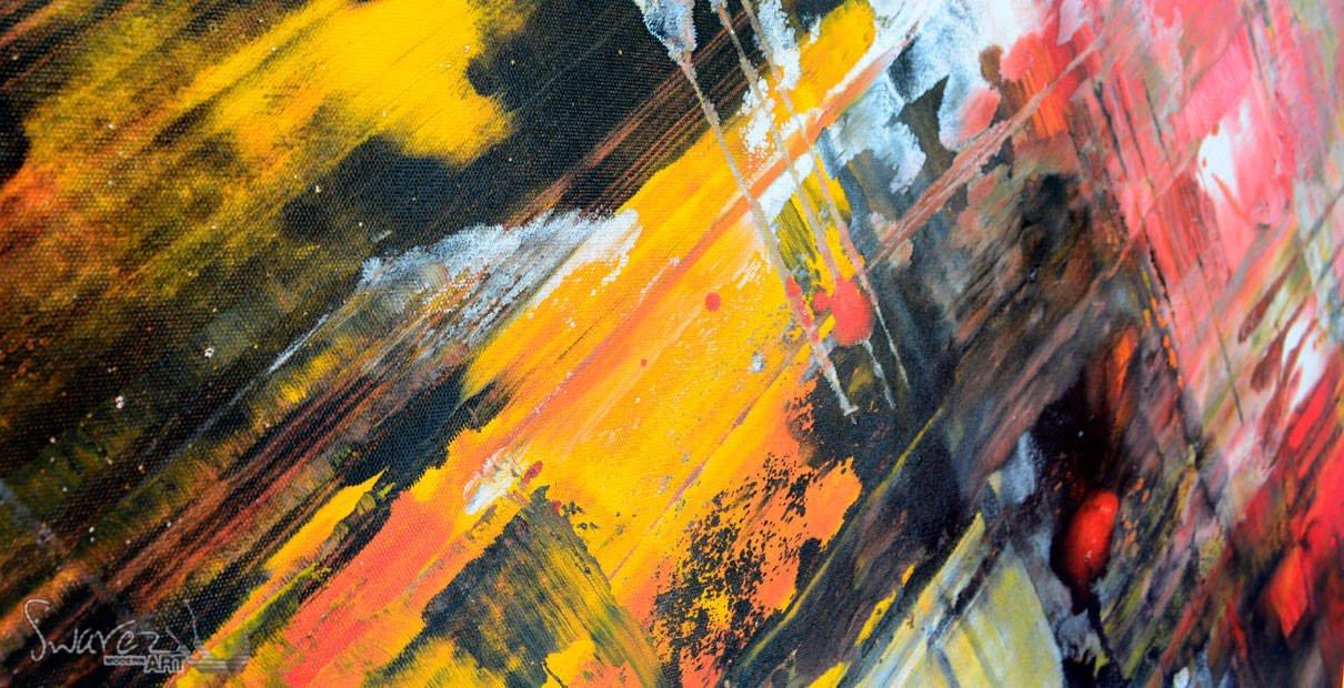 black large art