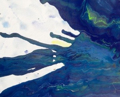 Highland Harmonies art close-up