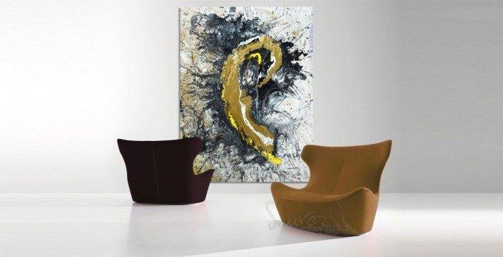 Large rectangular art called Renegade by Swarez