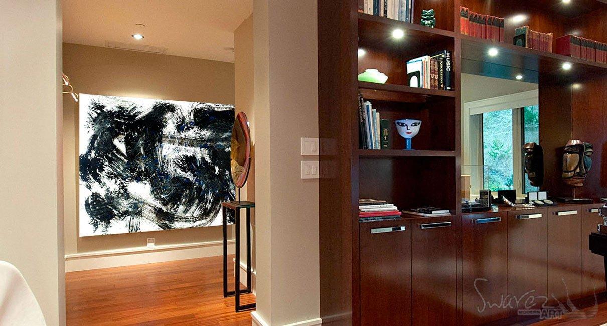 Modern penthouse office