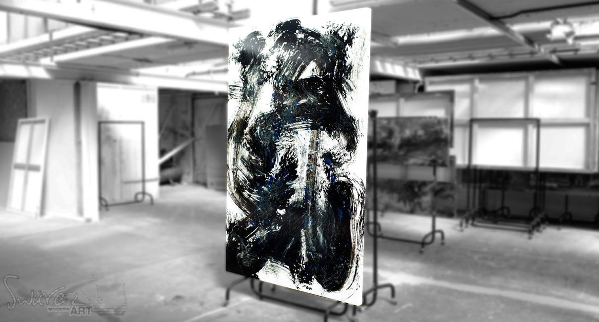 Black-and-white-original-minimal-painting