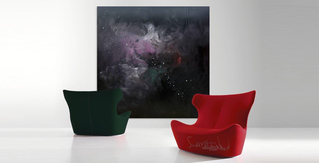 Carl Sagan inpsired art