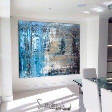 Large sized contemporary painting