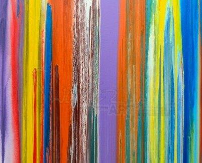 Stripes made into art