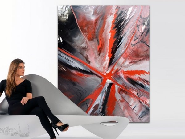 A Spider-like large painting