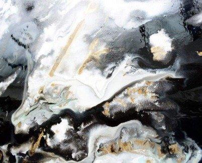 Detailed view of Piledriver original art