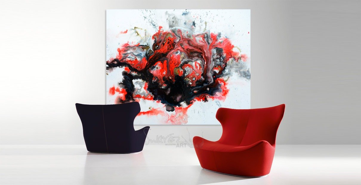 Large-red-and-black-painting