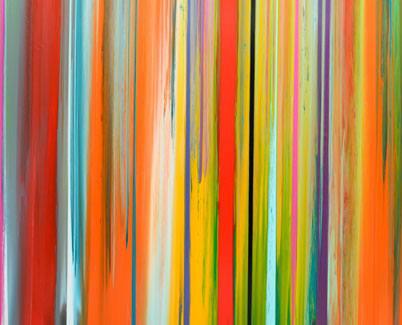 Stripes of colour