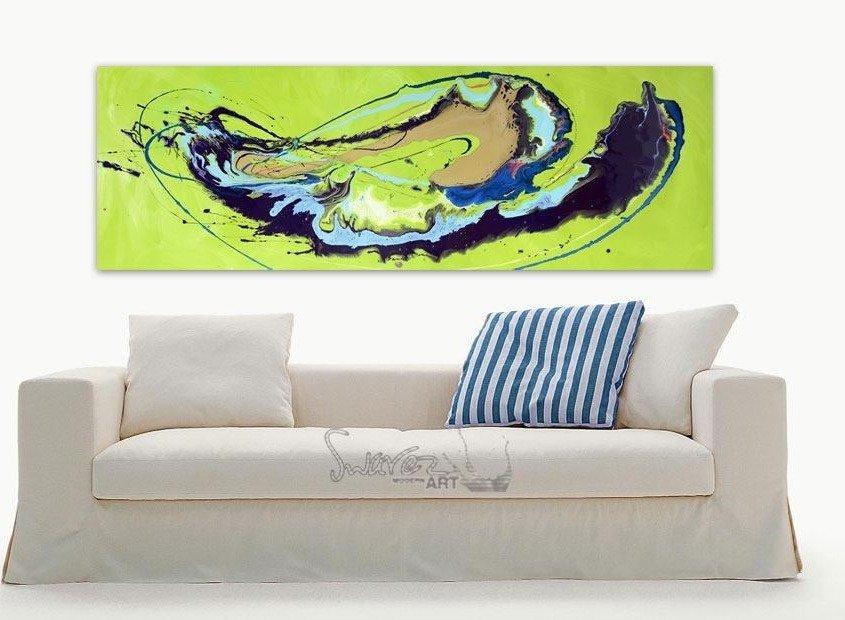 Lime green art