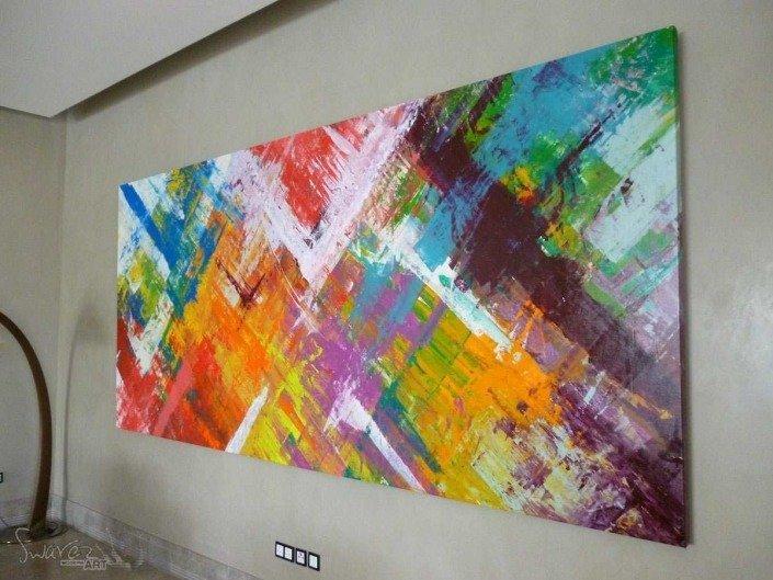 Crystal Caves multi colored art