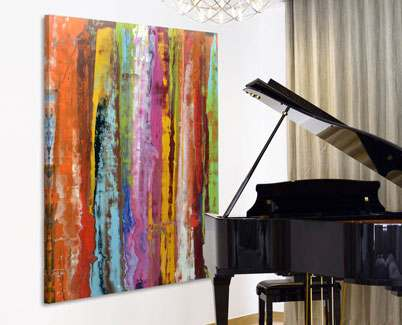 Large-striped-art-and-grand-piano