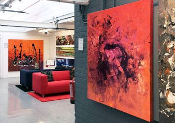 Swarez Art gallery Stroud