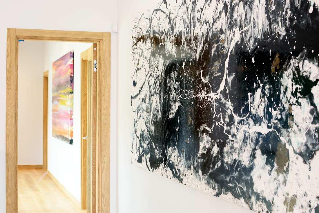 Balcarras Lane Art Installation Cheltenham New Build