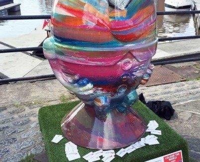 Scrumpty sculpture trail