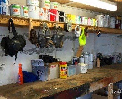 Art studio materials