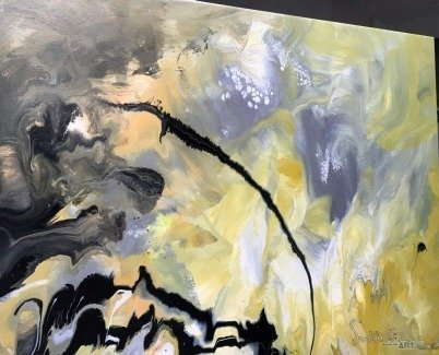 abstract painting called Illumination Theory