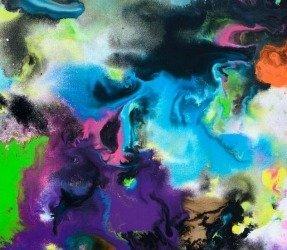 Multi-coloured art
