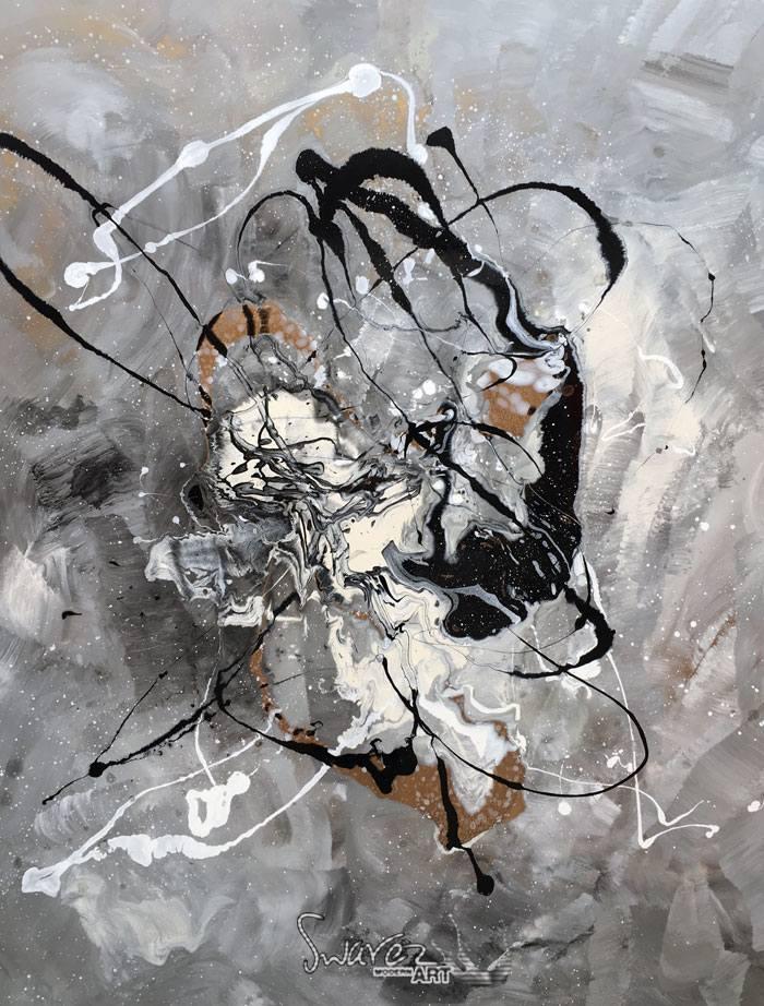 Grace Under Pressure original large art