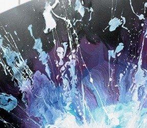 Cosmos inspired art called Interstellar