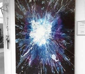 Space inspired art