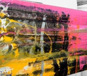 angled-view-of-a-pink-and-yellow-painting