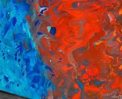 blue-and-red-abstract-brush-strokes