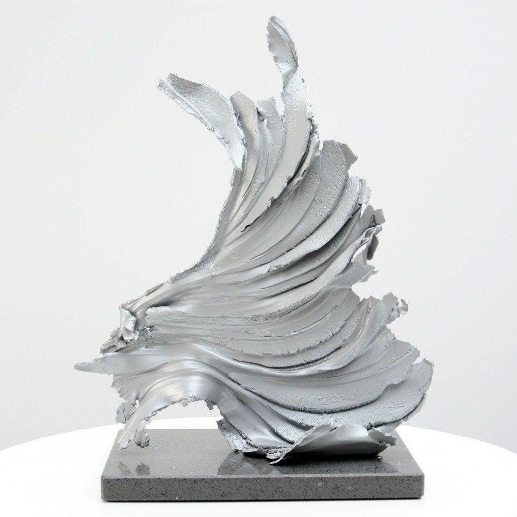 Cirrus One sculpture by Swarez Art