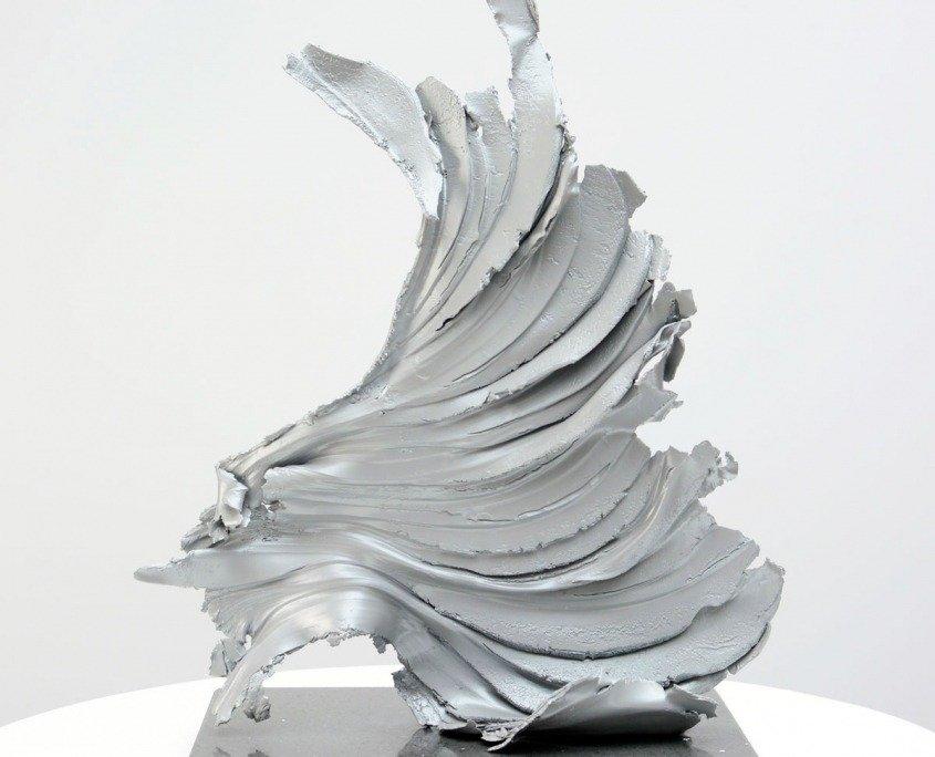 Cirrus One sculpture by Swarez Art