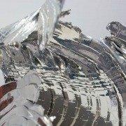 Chrome sculpture details