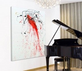 red-black-and-white-abstract-painting-hanging-in-a-room-3