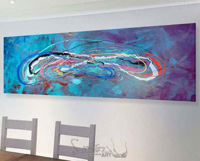 Big-turquoise-art-above-a-sofa