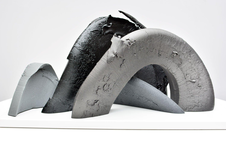 4-piece aluminium sculpture